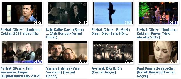 видеоклипы